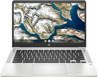 2020 HP 高性能 Chromebook 14インチ FHD 1929x1080 - Intel Celeron N4000 - 4GB メモリ - 32GB eMMC - ナチュラルシルバー