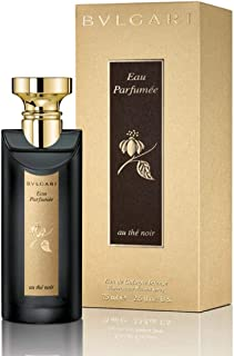 Eau Parfumee Au The Noir by Bvlgari for Unisex Eau de Cologne 75ml