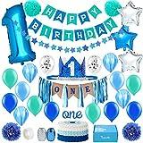 Baby 1st Birthday Boy Decorations in Sea...