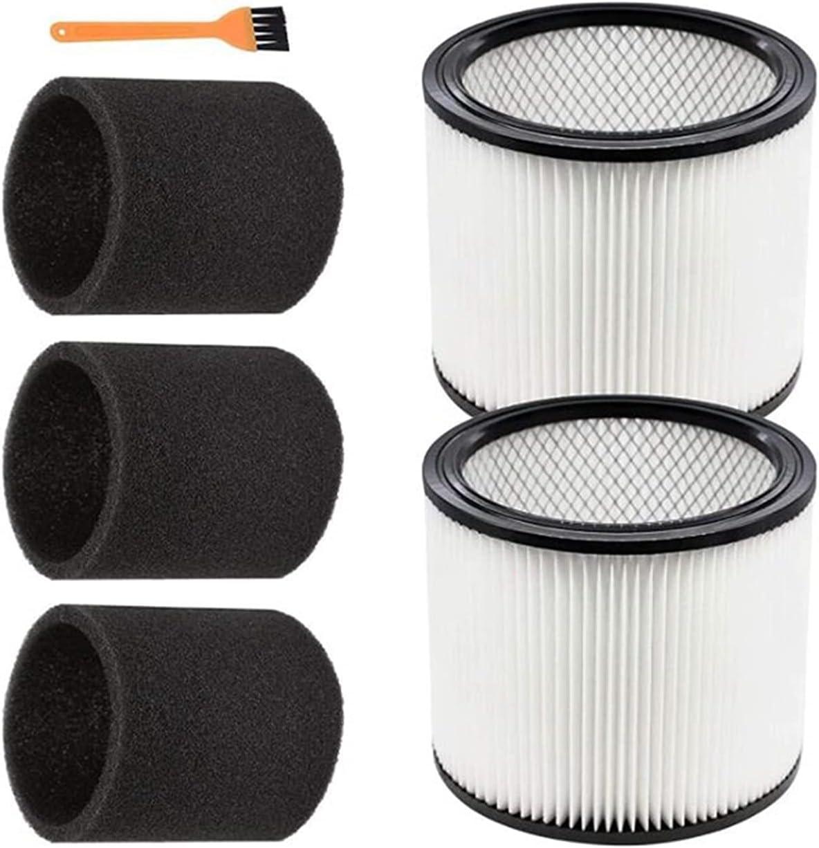 SHUOGUO 6 Pcs Foam Sleeve 5 ☆ popular half Filter for Vac 90304 Fit Shop 9030400