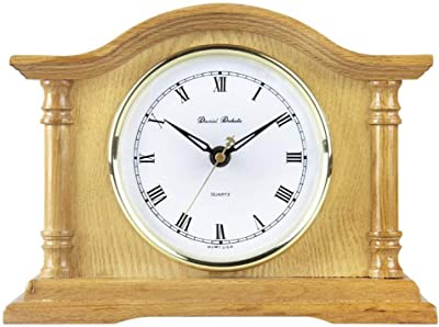 Yxx max Bracket Clock Clock Mute Living Room Clock in The Bedroom Living Room Clock Retro