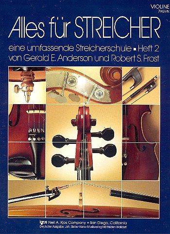 Siebenhüner Alles für Streicher - Band 2 - Violine