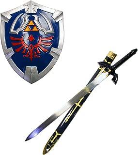 THE Legend of Zelda Real Master Sword and Shield Set Costume Link Hylian