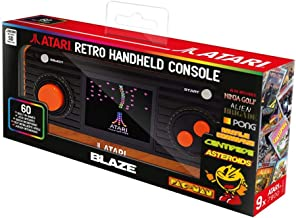 Atari Pac-Man Retro Handheld Console with 60 Games - Includes Sd Card Slot (Electronic Games)
