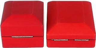 LFLF (Rouge Affichage De Bijoux LED Pendentif Collier Boîte De Fiançailles Boîte De Fiançailles
