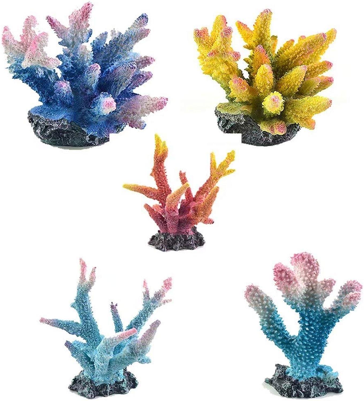Resin Branch Coral Figurine Statue Bathroom Sea Beach Spa Home Indoor Decor Art Collection