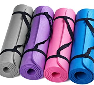 GUOJIAYI Yoga mat 15 mm thick and durable yoga mat non-slip sports fitness anti-skid mat weight loss fitness equipment