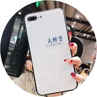 日本のレプチャーンアップル6sモバイルシェル適用iPhone7plus,[大きなモンスター]白い背景,[Apple] 6sP / 6P
