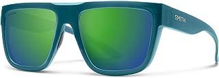 Smith The Comeback Chromapop Sunglasses, Matte Crystal Deep Forest, Chromapop Sun green Mirror