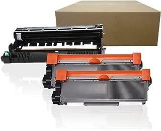 Inktoneram Compatible Toner Cartridges & Drum Replacement for Brother TN660 TN630 DR630 DR-630 TN-660 TN-630 MFC-L2700DW MFC-L2720DW MFC-L2740DW HL-L2300D HL-L2320D HL-L2340DW ([Drum, 2-Toner], 3PK)