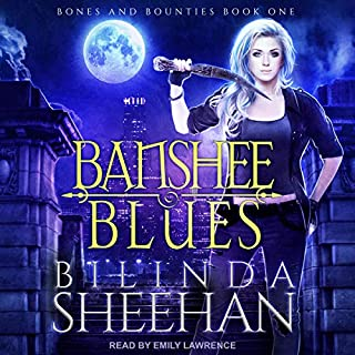 Banshee Blues audiobook cover art