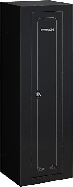 Stack On GCB 910 Steel 10 Gun Compact Steel Security Cabinet Black