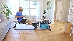 Amazon.com : LifeSpan RW1000 Indoor Rowing Machine