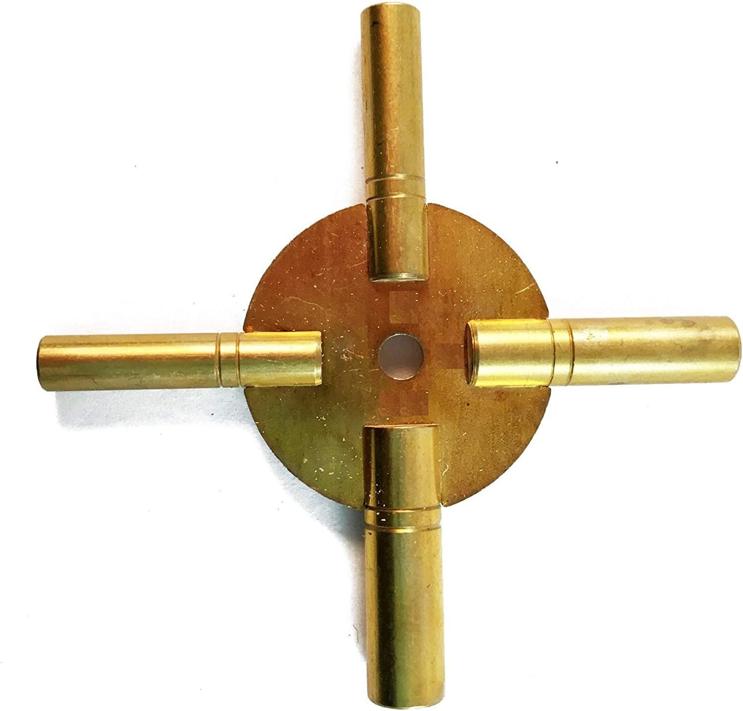 Master New color Key for All Outlet sale feature Ship Clock - in Pie One Prong Total 4 Brass