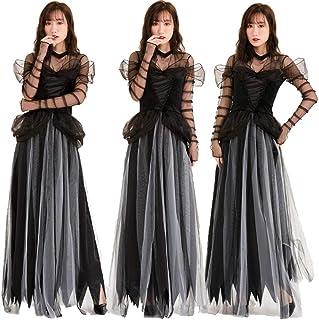 susan's_shop ハロウィンホラー幽霊花嫁 大人服ヨーロッパと米国悪魔衣装ロールプレイング 吸血鬼ホラー