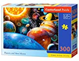 Castorland B-030262 Planets and Their Moons Puzzle 300 Piezas, Multicolor