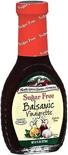 Maple Grove Farms Balsamic Vinaigrette Sugar Free Dressing, 8 Ounce -12 per case.