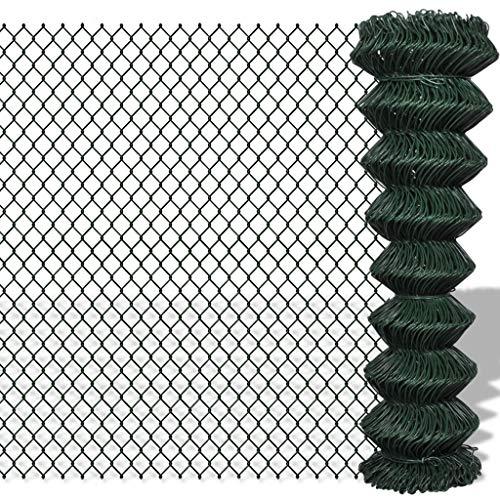 Festnight Gaashek Zeshoekig Gaas Hek Gaas Tuinnet Gevogelte Netwerk Kippengaas Hardware Doek Weatherporoof 1,5x25 m gegalvaniseerd staal groen