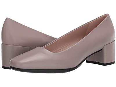 ECCO Shape 35 Squared Pump (Grey Rose Cow Leather) Women