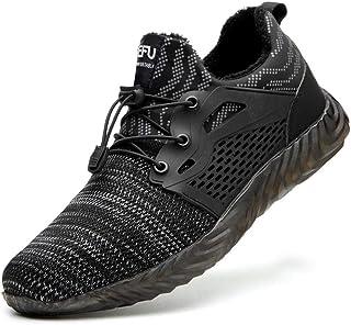 Chaussure de Securité Homme Femmes,Chaussures de sécurité au Travail légères et Respirantes isolées par Un électricien, Ch...