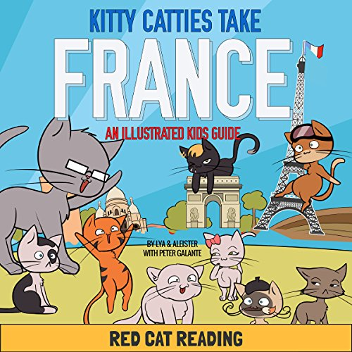 Kitty Catties Take France audiobook cover art