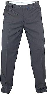 D555 Mens Trousers Big King Size Duke Adjustable Xtenda Waist Smart Casual Pants