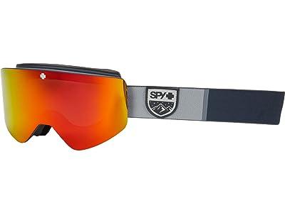 Spy Optic Marauder (Color-Block Gray/Bronze/Red/Yellow/Green Spectra Mirror) Goggles