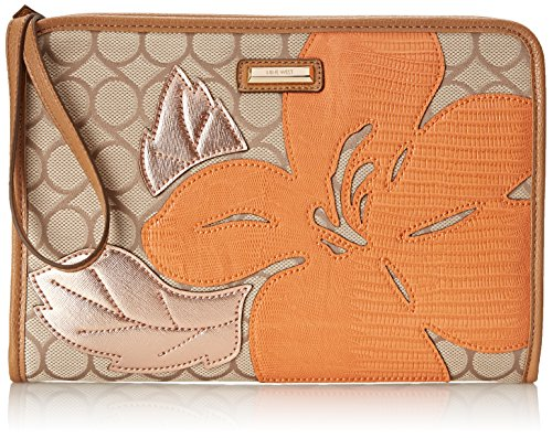 Nine West Table Treasures Essential Pouch Notebook Bag, Toasted Oat, One Size