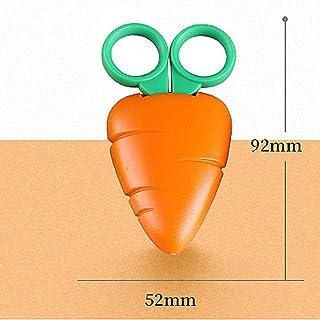 Tools Home Improvement,Fruit Magnetic Suction Baby Handmade Scissors Student Lovely Scissors Children Paper-Cut Scissors Orange