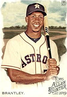 2019 Topps Allen & Ginter #218 Michael Brantley Houston Astros Baseball Card