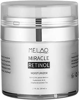Lusucat Retinol Moisturizer Cream for Face - Vitamins A, C & E & Breakthrough Anti Aging, Anti Wrinkle Complexes, Anti Wrinkle Night and Day Moisturizing Cream 1.7 Fl.Oz.