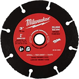 Milwaukee 49-94-3005 3 Inch Carbide Abrasive Blade