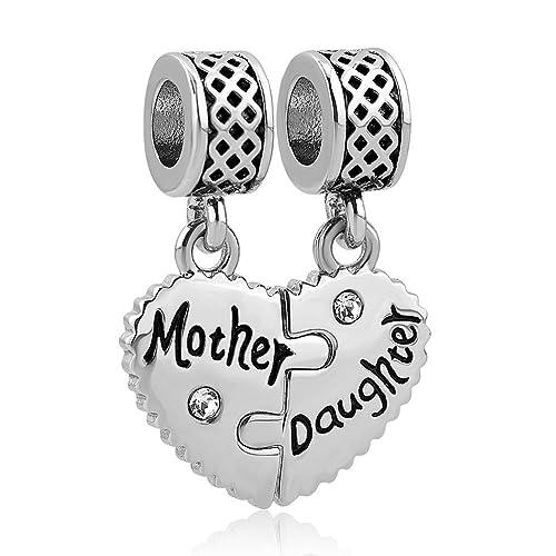 pandora charm mom and daughter
