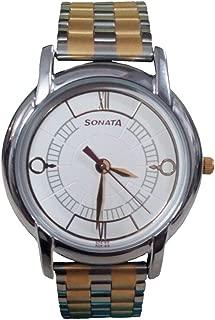 Sonata Analog Off-White Dial Men's Watch-NK7954BM01