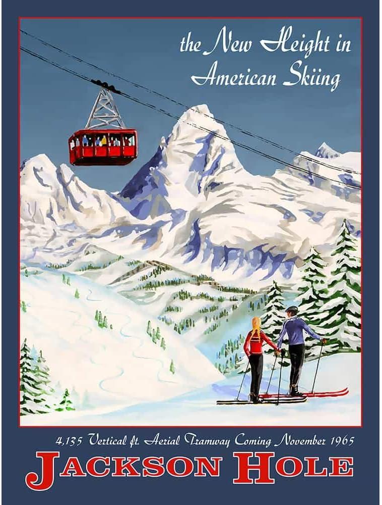 Are Ski Resort Poster