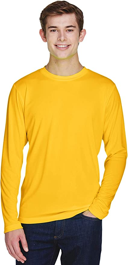 TT11L Team 365 Men/'s Zone Performance Long-Sleeve T-Shirt