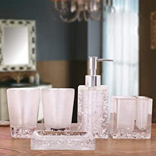 Best pink and white bathroom accessories Reviews