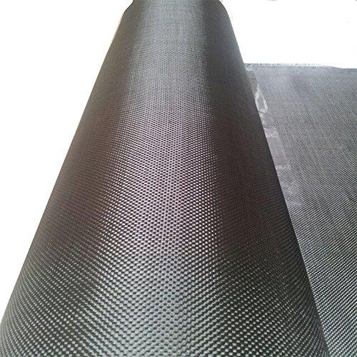 Origen de fibra de carbono de la tela tela de carbono 3K 200 Ge 1x1m DIY negro