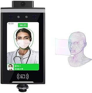 WFGZQ Termometro A Infrarossi con Riconoscimento Facciale 3D da 8 Pollici, Misurazione per Identificare La Presenza Faccia...