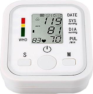 TAO Monitor De Presión Arterial Tipo De Brazo Electrónico Automático Inicio Inglés Memoria Multifuncional Operación De Batería Seca Simple Voice Broadcast 4.6 * 3.7 * 2.6in