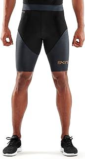 SKINS Men's DNAmic Triathlon 1/2 Tights B, Black/Carbon