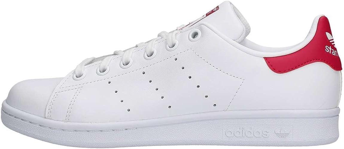 adidas Stan Smith, Sneakers Basses Mixte, Blanc (White B32703), 36 ...