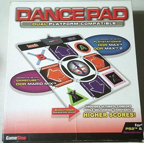 Gamestop PS2 / Game Cube Dual Platform Dance Pad