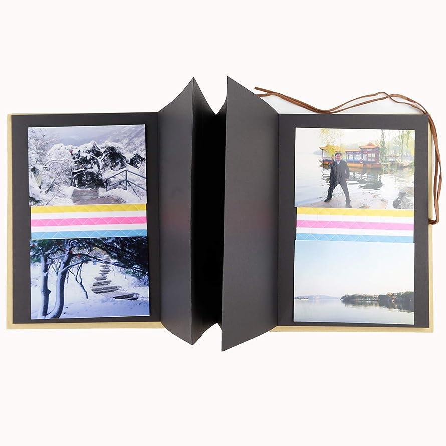 WLC Scrapbook Album,Adventure Book Photo Album Record memoric,Story of Photos