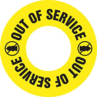 fire hydrant out of service signs