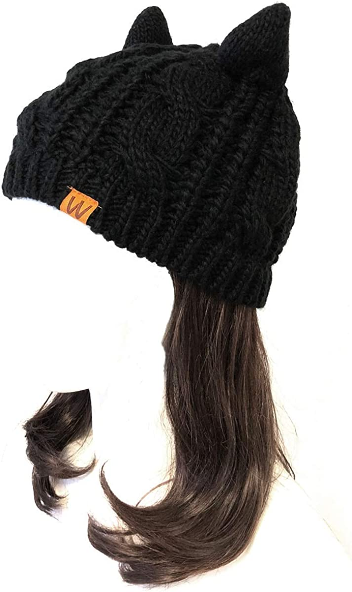 Virginia Beach Mall low-pricing Wrapables Winter Warm Cable Knit Ears Beanie Cat