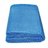 Tarpaulin Solar Pool Covers for Inground Pools, 10m/8m/7m/6m/5m Rectangular Swimming Pool Solar Cover Heat Insulation Film with PE Bubble, Blue (Size : 5m x 6m(16ft×19ft))