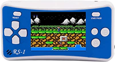 Kolopc Handheld Game Console for Kids Seniors Adults with Built-in 152 Portable Classic Retro Video Games(Blue 1)