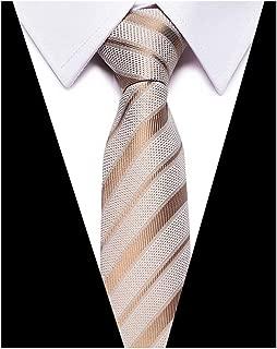 Men's Skinny Silk Tie Classic Mixed Pattern Wedding 3