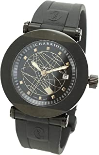 シャリオール CHARRIOL CCRA42 1/5 アルミレール メンズ 腕時計 限定 ブラック 文字盤 自動巻き オートマ ウォッチ 【中古】 90076527 [並行輸入品]